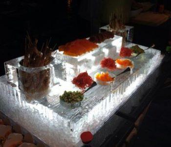 seafood ice platters