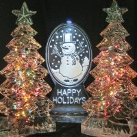 holiday sculptures