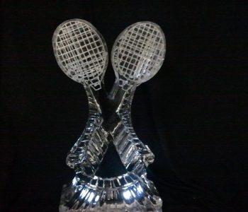 tennis ice art