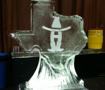 texas ice sculpture